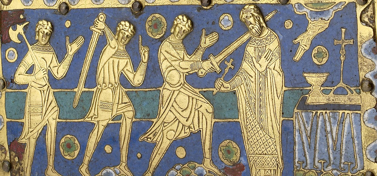 the death of thomas becket case Thomas becket, miracles, relics  indeed, on his death the monks at canterbury  discovered he wore a hair shirt infested with lice under his vestments.