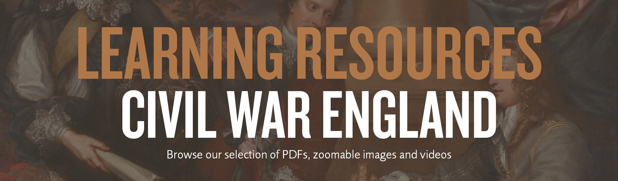 learning resource civil war england