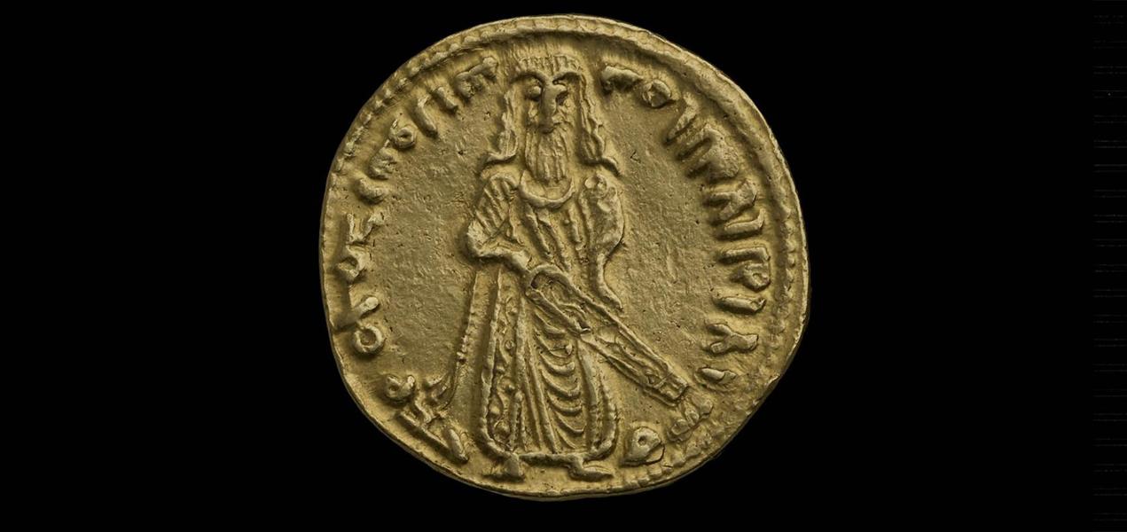 STANDING CALIPH DINAR | Ashmolean Museum
