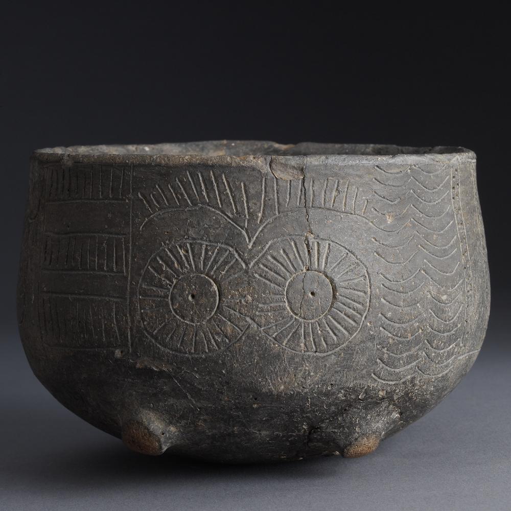 Prehistoric Ceramic Bowl