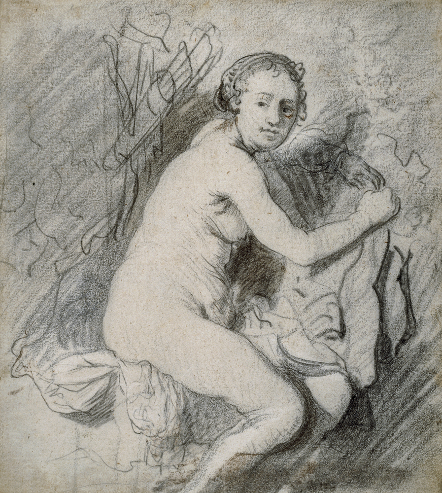 2020 Young Rembrandt Exhibition – Rembrandt, Diana at the bath, c. 1630-1 © British Museum, London