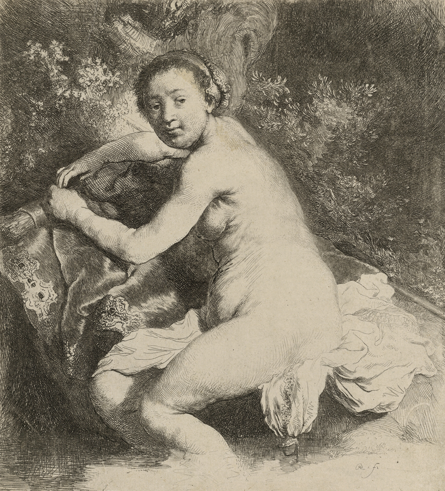 2020 Young Rembrandt Exhibition – Rembrandt, Diana at the bath, c. 1631 © British Museum, London