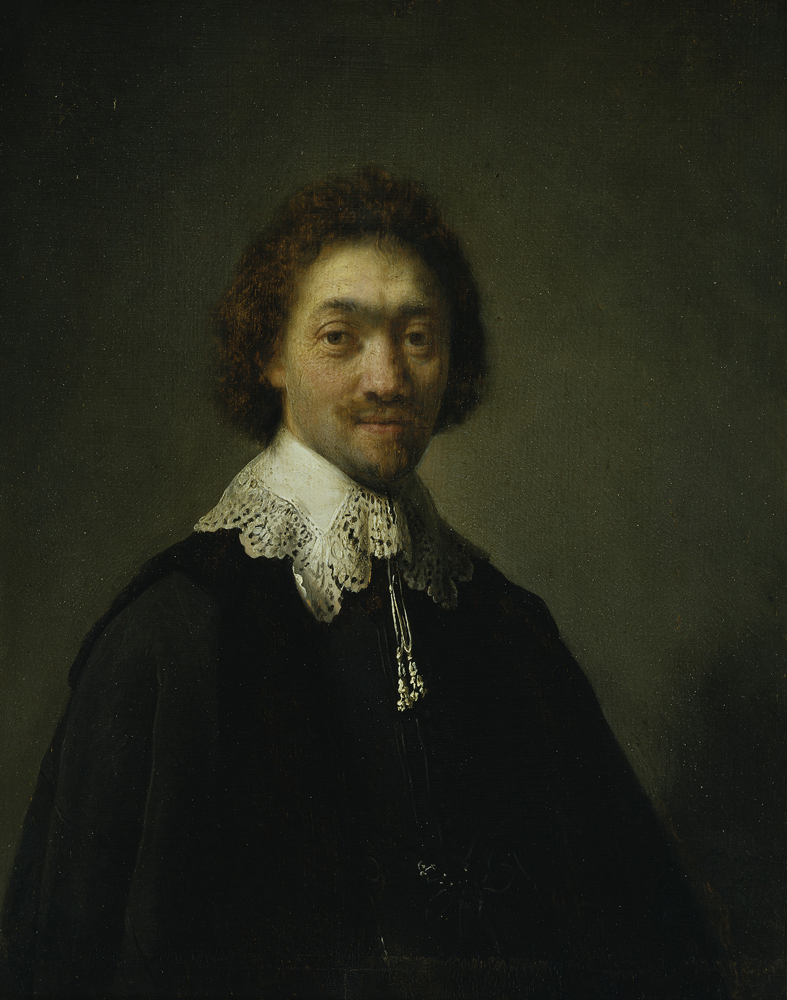 2020 Young Rembrandt Exhibition – Rembrandt, Portrait of Maurits Huygens, 1632 © Hamburger Kunsthalle