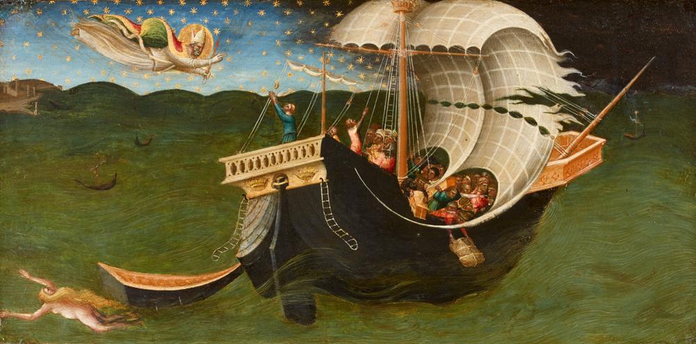 St Nicholas of Bari Banishing the Storm