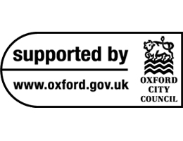 suported by oxford city council logo