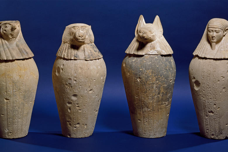 Ancient Egypt Canopic Jars