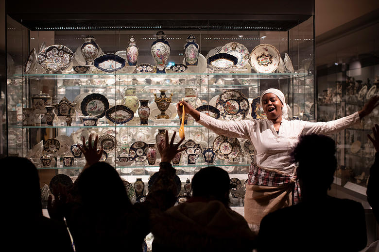 European Ceramics Gallery at the Ashmolean
