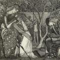 Edward Coley Burne-Jones, The Knight's Farewell