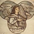 WA1978.121, Edward Burne-Jones, Design for stained glass in Lyndhurst Church