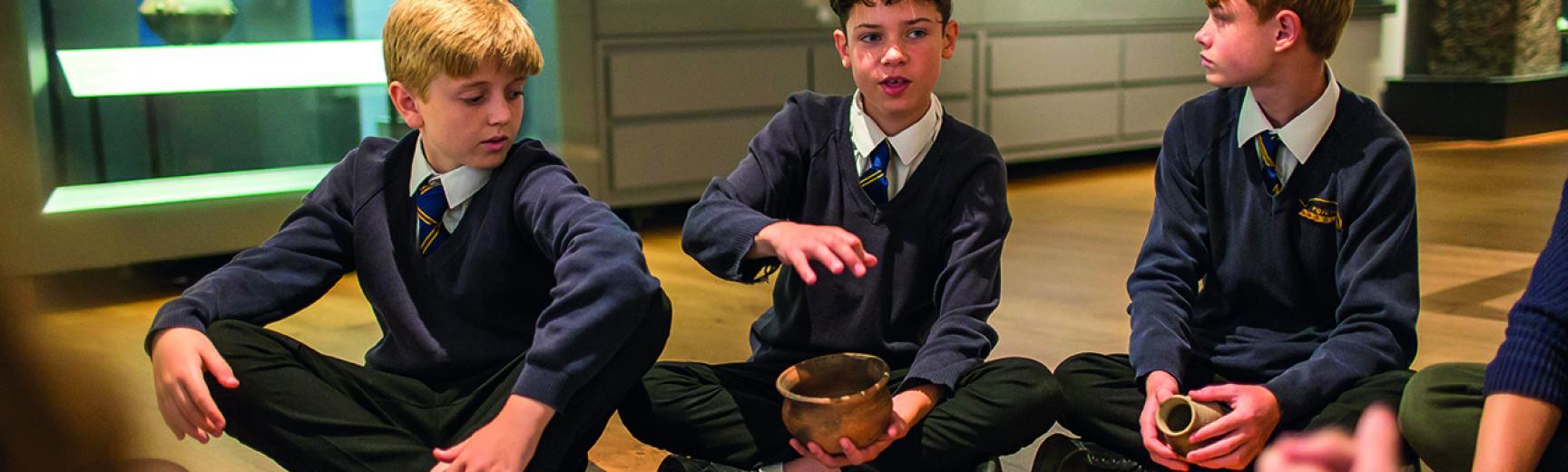 ashmolean watlington hoard school session by ian wallman 79 v2