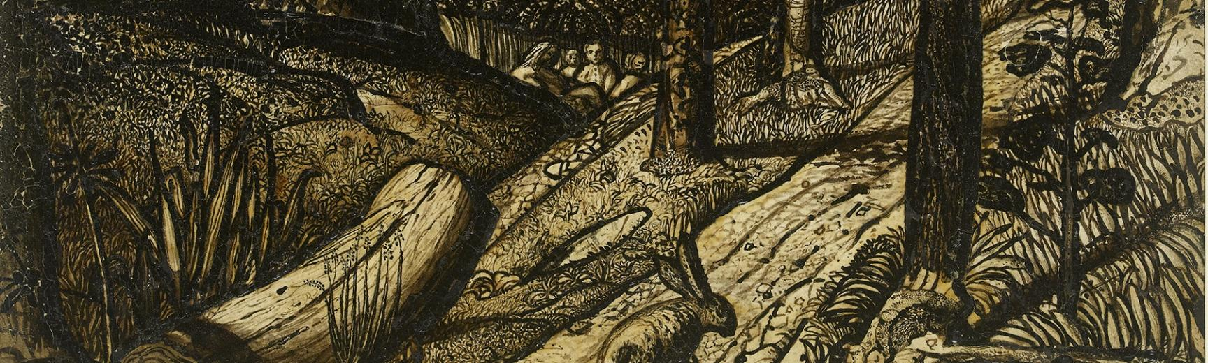 Works by Samuel Palmer – The Western Art Print Room at the Ashmolean Museum