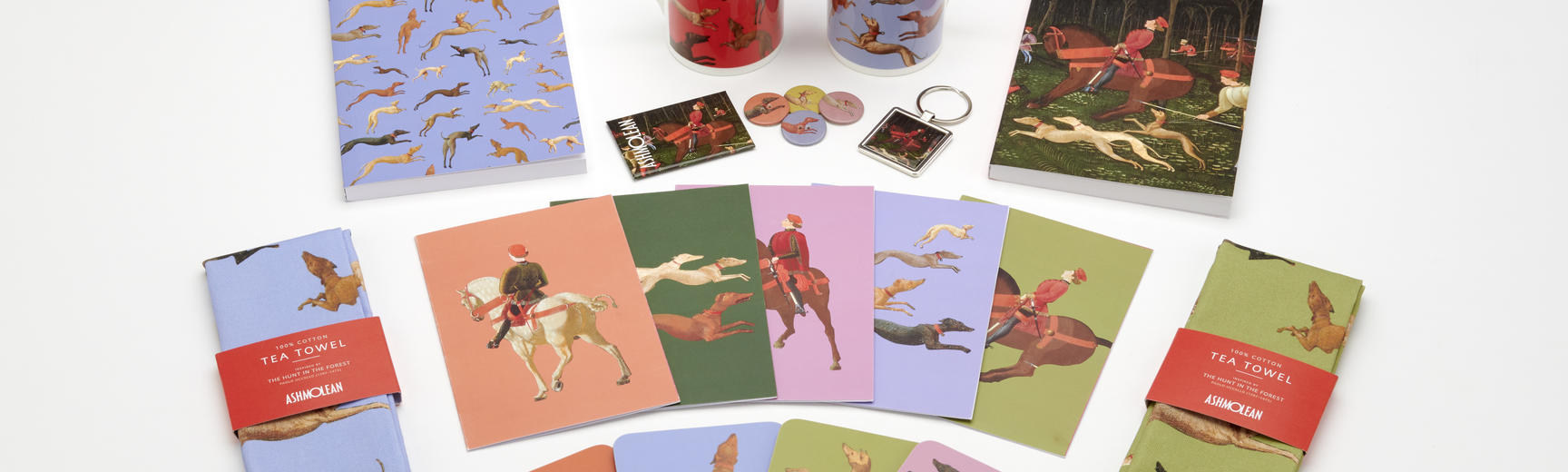 Shop products branded with the Hunt in the Forest painting