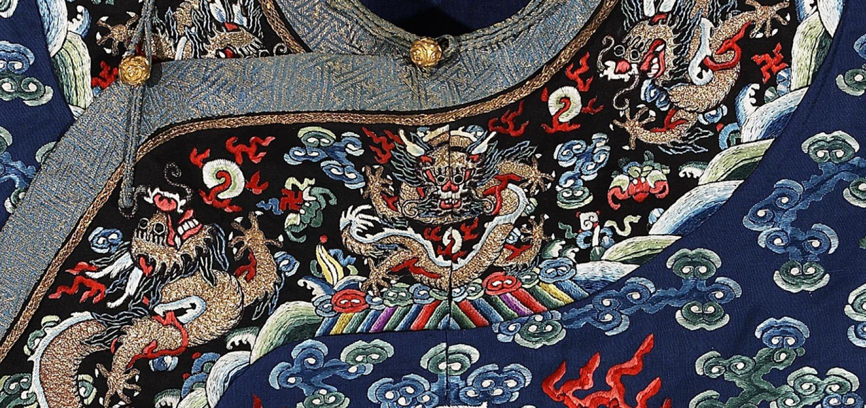 Man's formal robes (detail)
