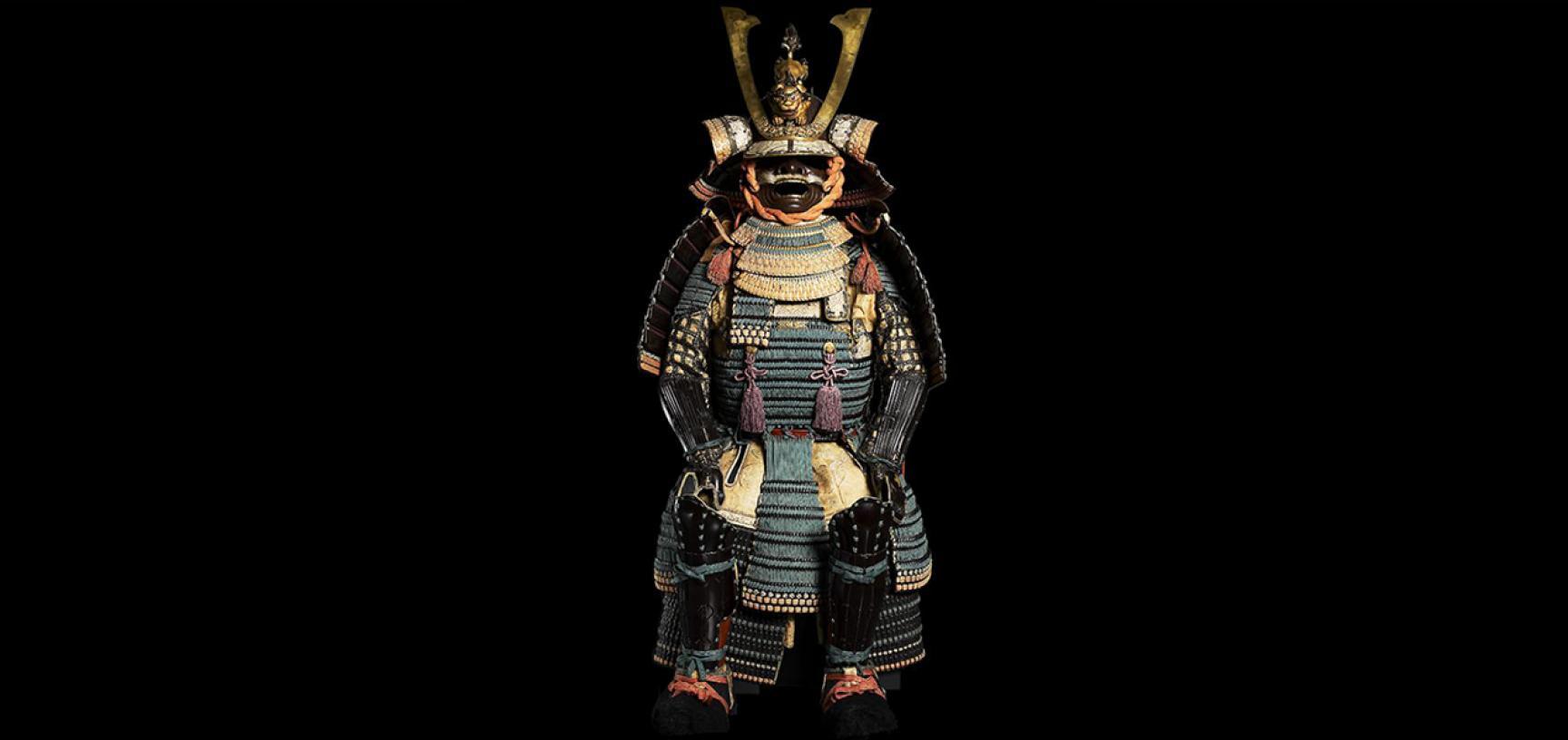 Ceremonal suit of armour for a samurai