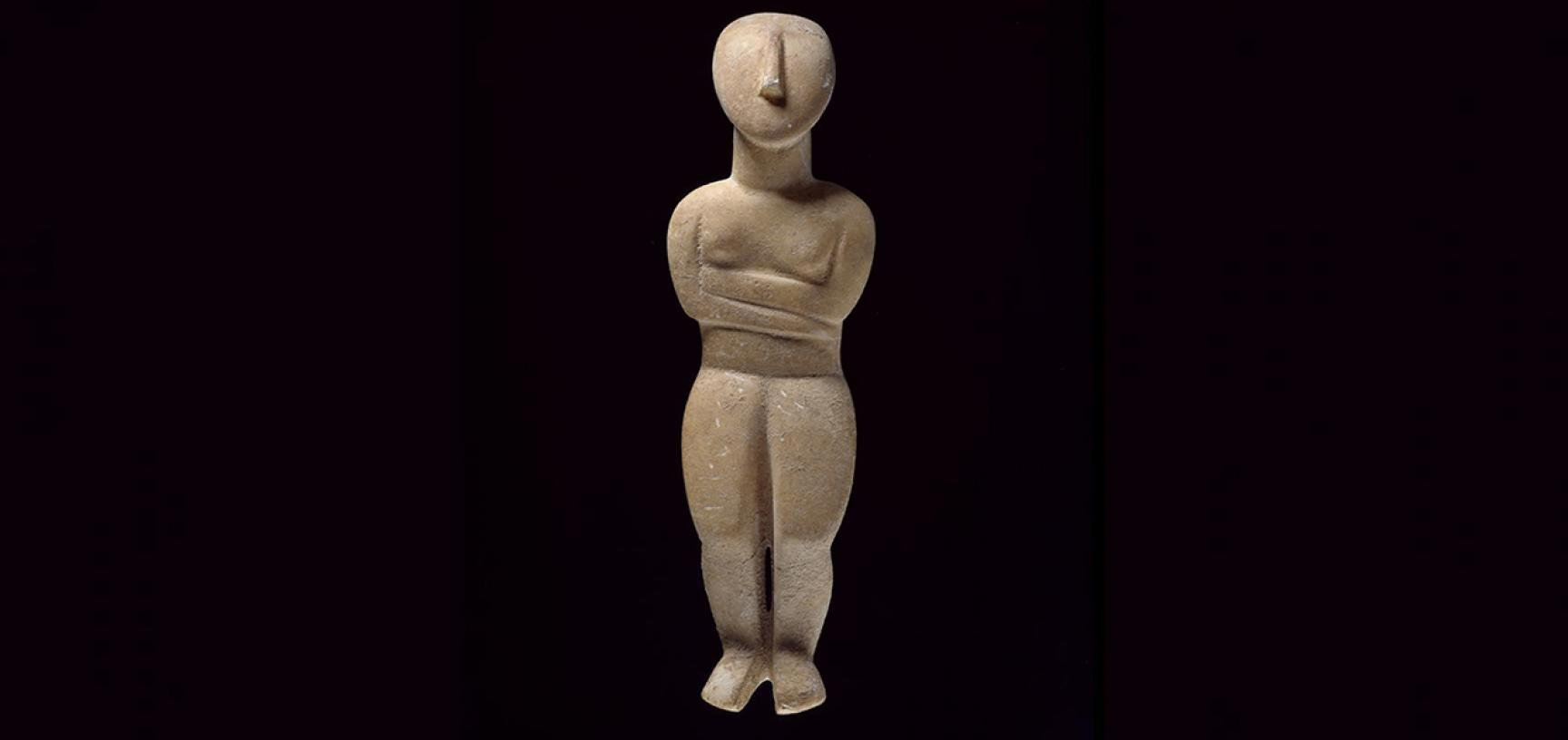 Cycladic figure