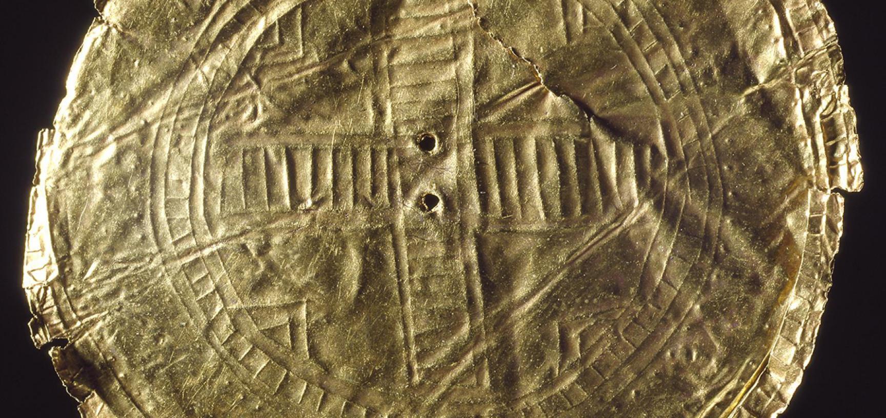 Ballyshanon sun disc (detail)