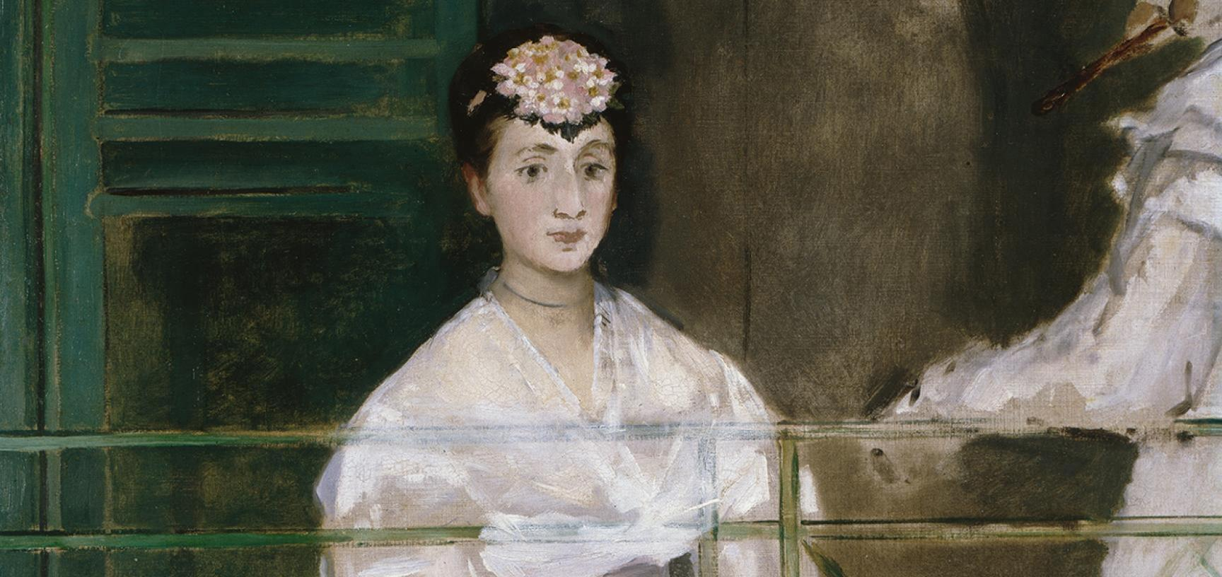PORTRAIT OF MADEMOISELLE CLAUS by Édouard Manet