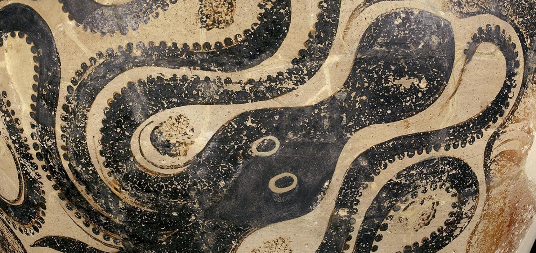Knossos storage jar (detail)