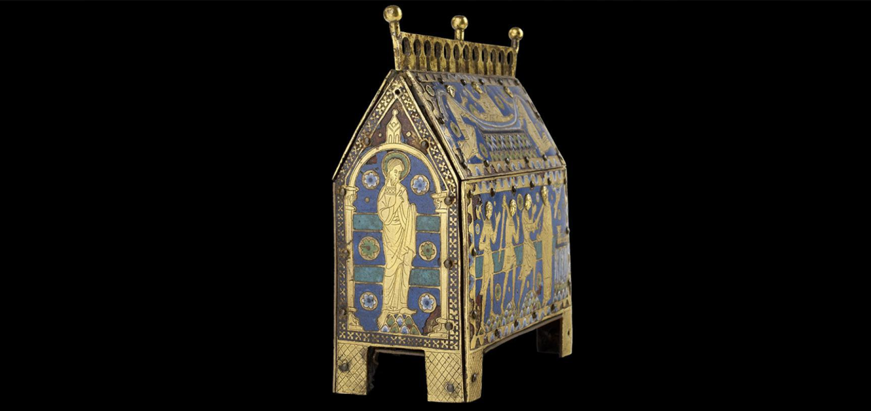 RELIQUARY CASKET OF ST THOMAS BECKET from the Ashmolean collections