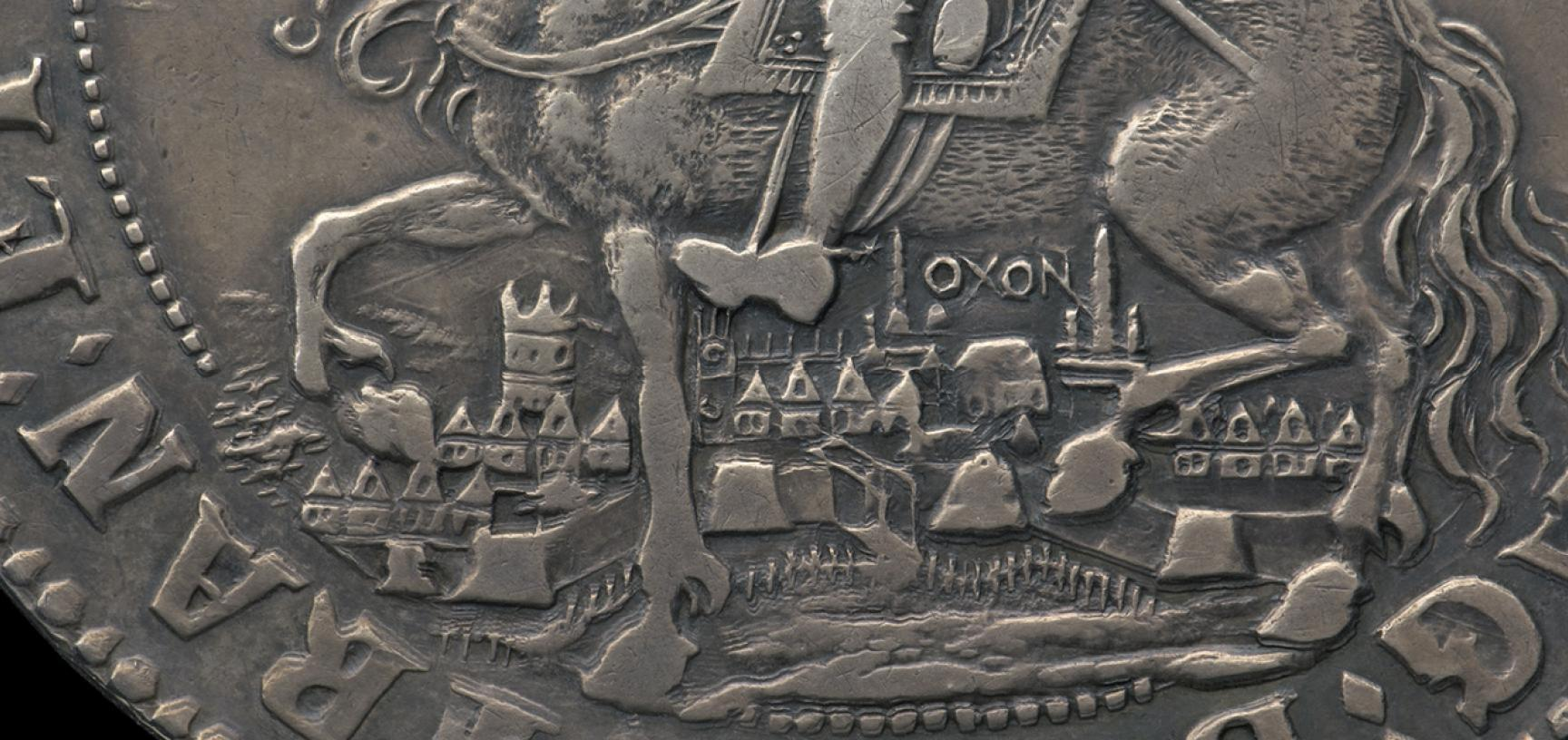 Oxford Crown from the Ashmolean collections (detail)