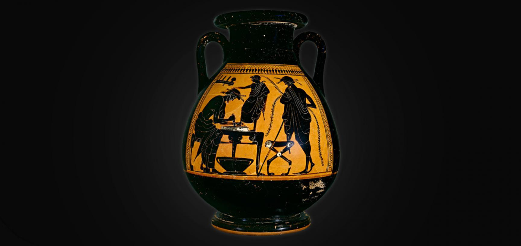 SHOEMAKER VASE from the Ashmolean collections