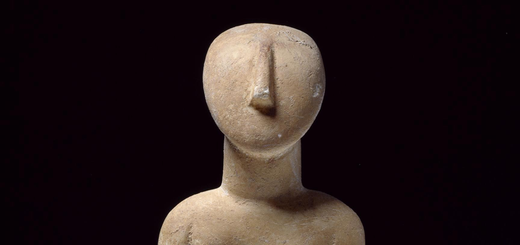 Female figure with folded arms, Cyclades, c. 2800-2300 BC