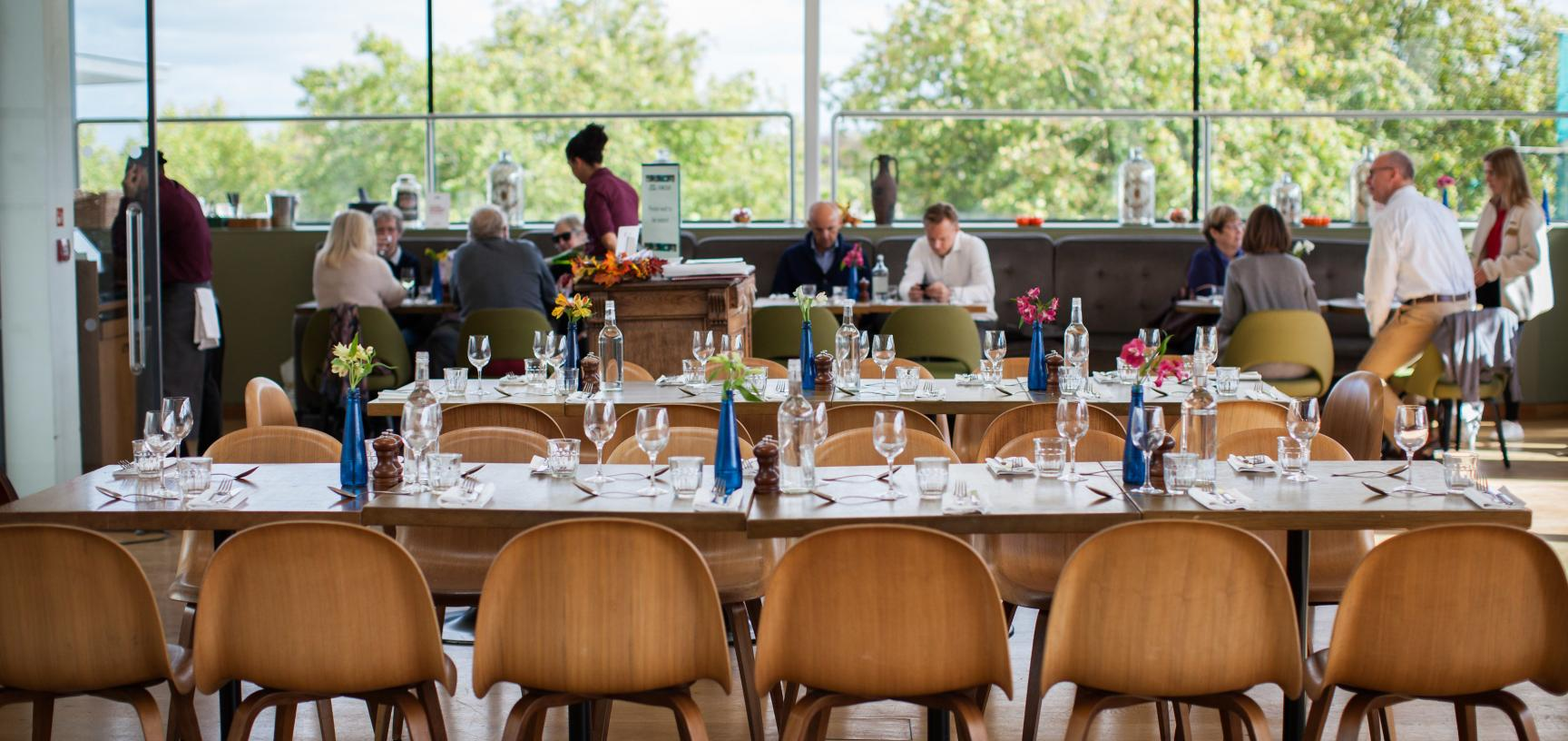 Ashmolean venue hire - Rooftop Boardroom