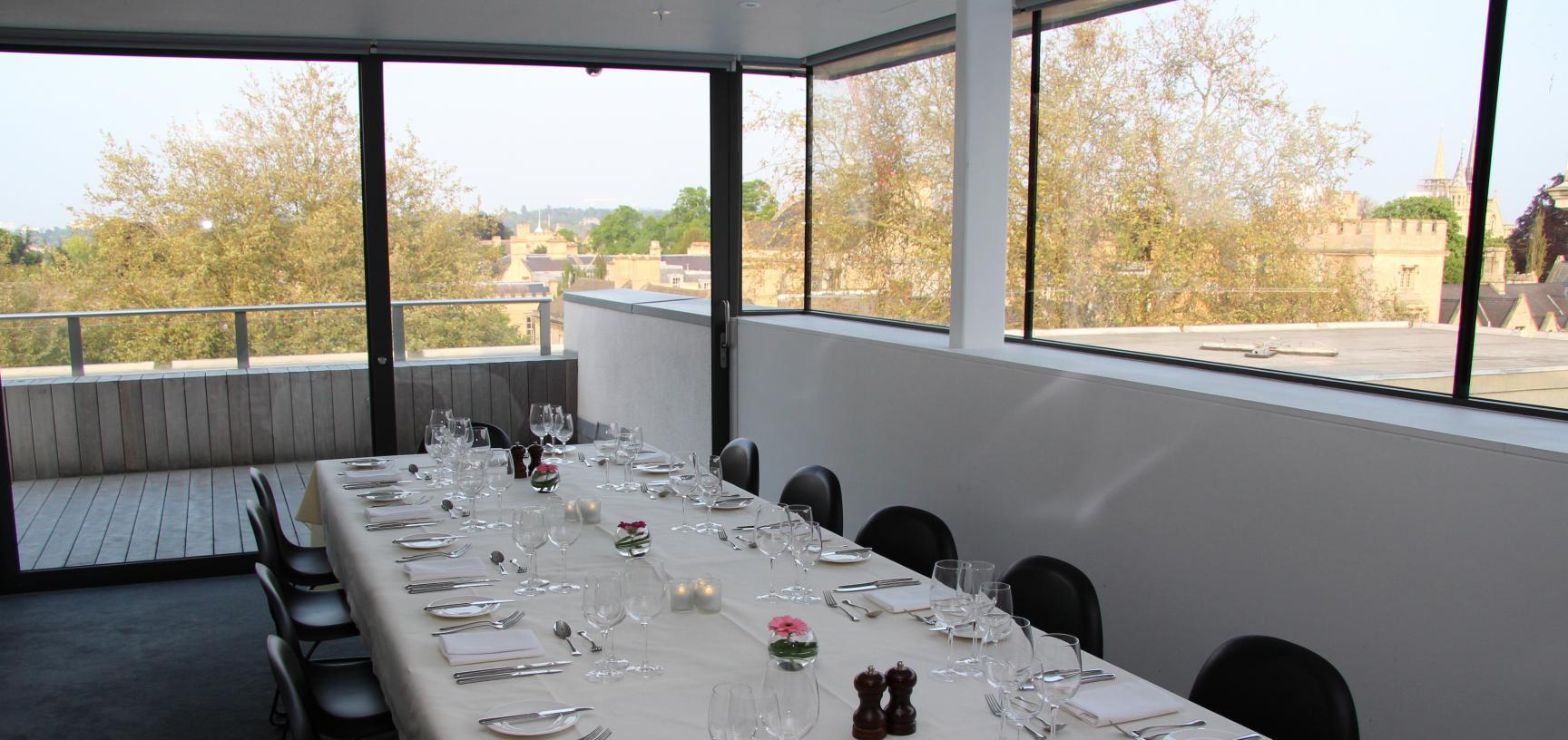 Ashmolean Venue Hire - Private Dining in the Boardroom
