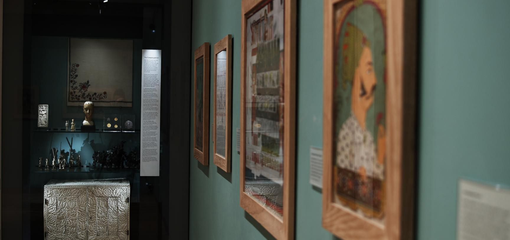 The Mughal India Gallery at the Ashmolean Museum