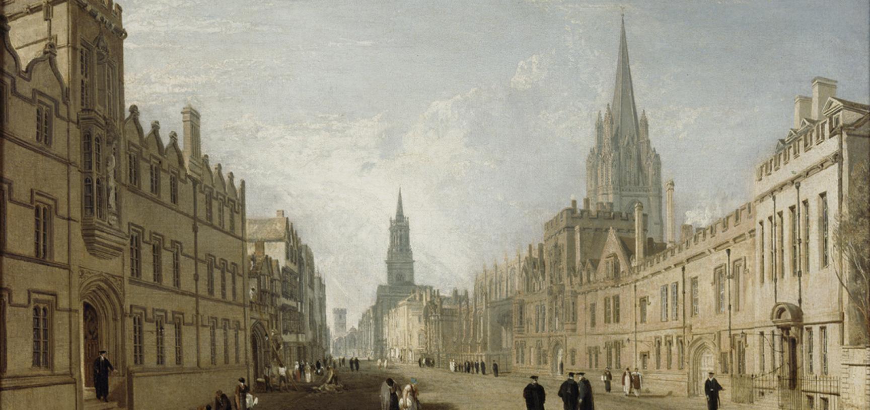 Turner's High Street by Joseph Mallord William Turner