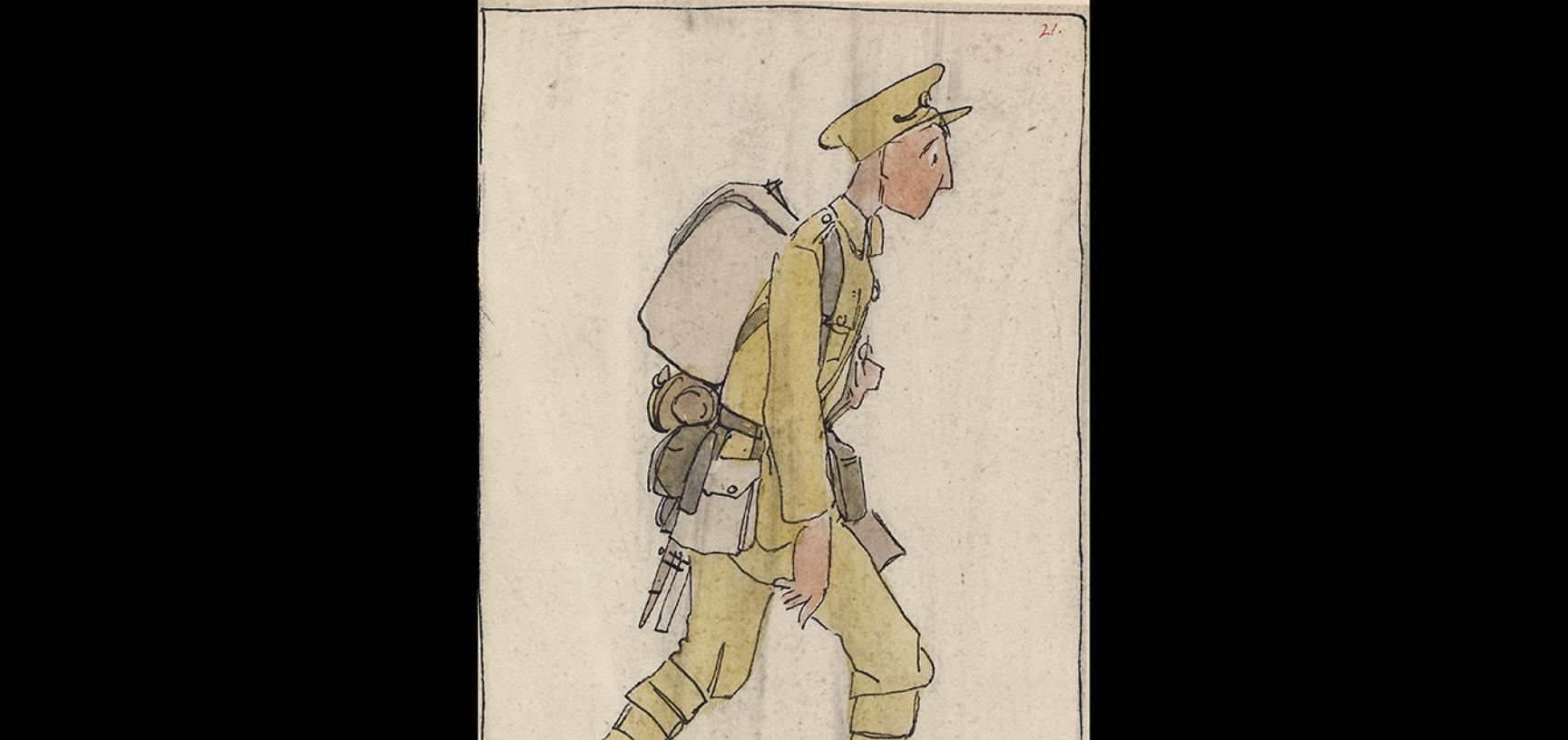 Claud Lovat Fraser,Complete, June 1915, 1919 © Ashmolean Museum, University of Oxford WA1975.101.52