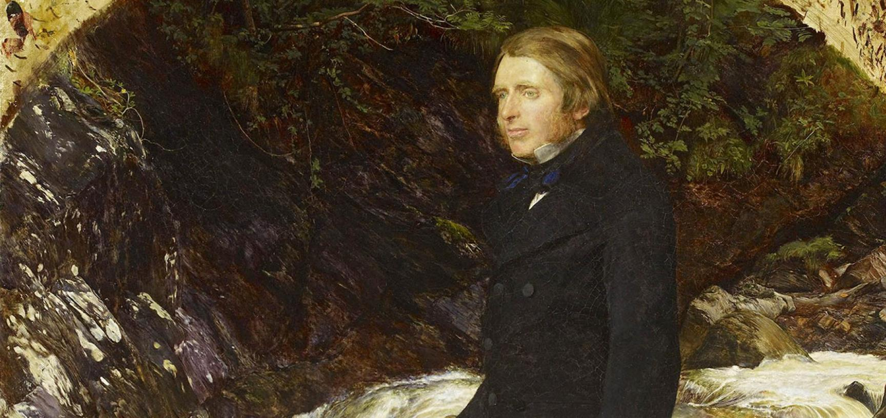 Portrait of John Ruskin by John Everett Millais