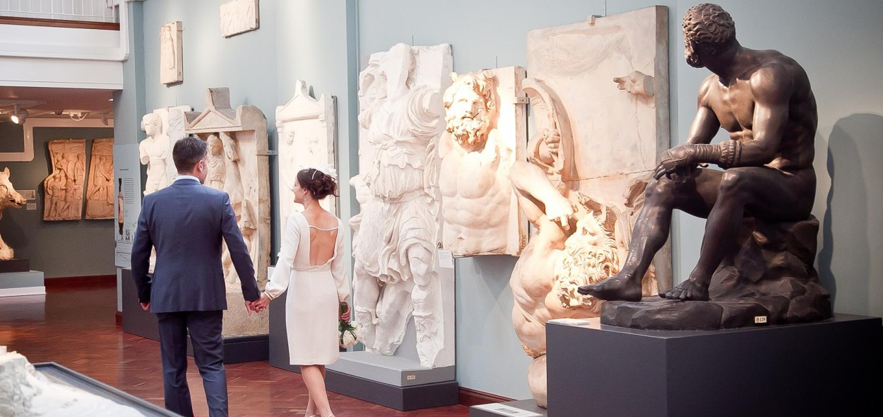 Ashmolean Venue Hire – Wedding in the Cast Gallery