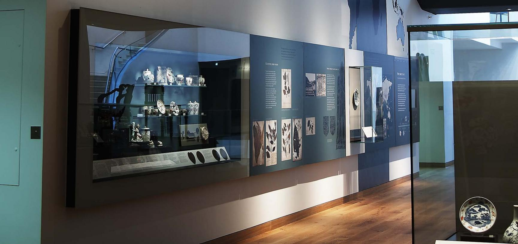The West Meets East Gallery at the Ashmolean Museum