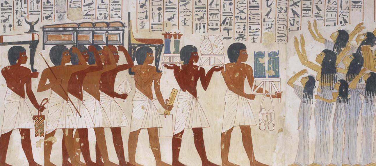 LIFE AND DEATH IN ANCIENT EGYPT at the Ashmolean