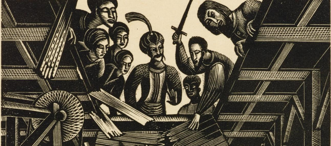 Eric William Ravilious, Famous Tragedy of the Rich Jew of Malta