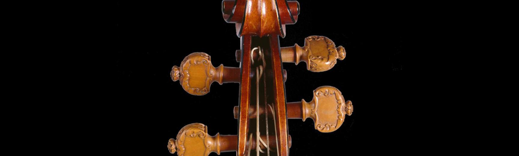 The 'Messiah' Violin by Antonio Stradivari (detail)