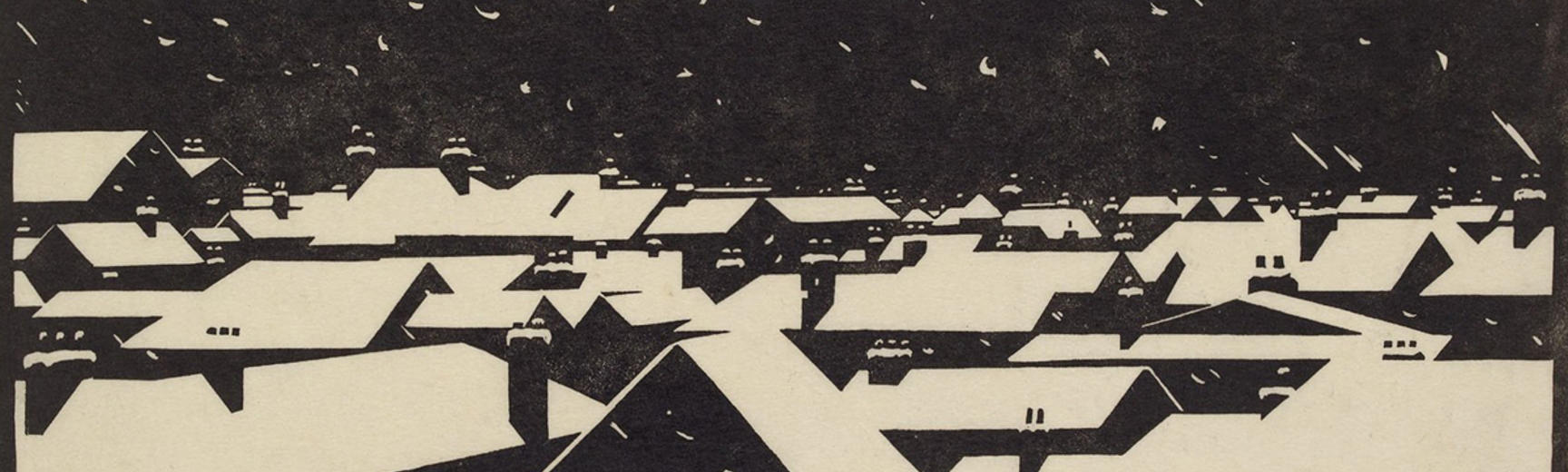 Dublin Under Snow by Robert Gibbings (1889–1958)