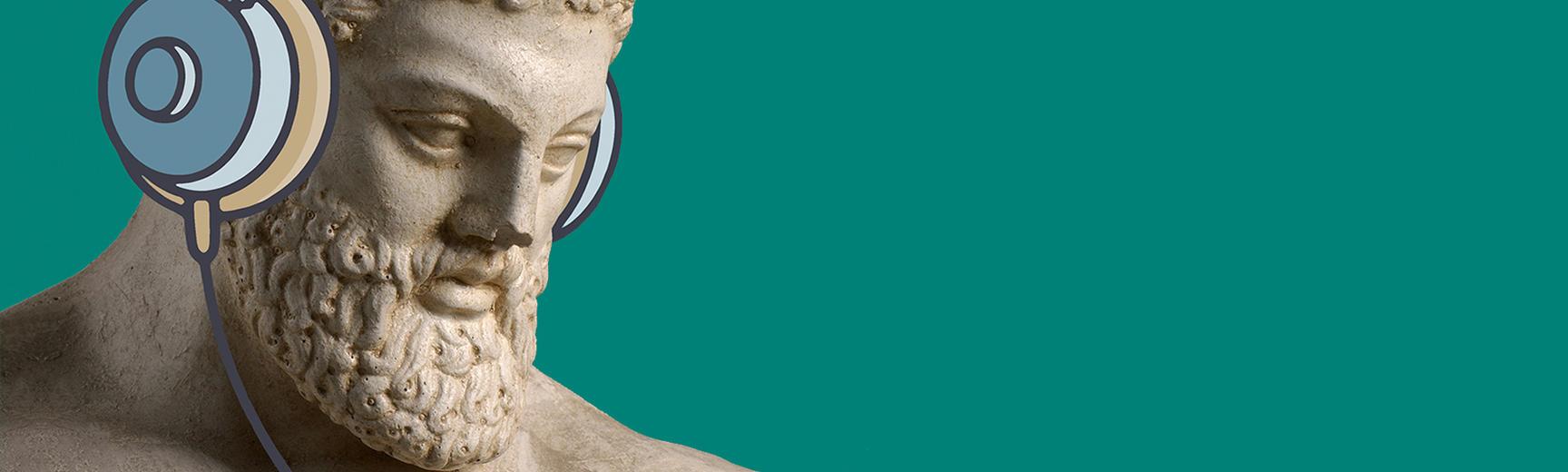 museum secrets podcast headphones banner