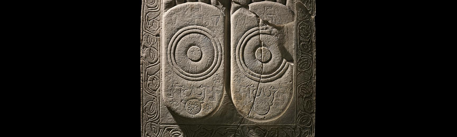 Imagining the Divine – Press Image – Footprints of the Buddha © Trustees of the British Museum