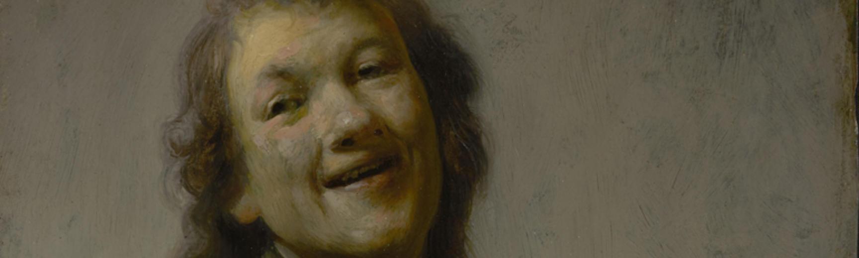 2020 Young Rembrandt Exhibition – Rembrandt, Rembrandt Laughing, c. 1628 © J Paul Getty Museum, Los Angeles