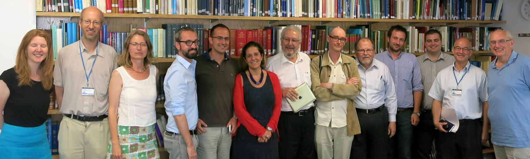 Roman Provincial Coinage research project team