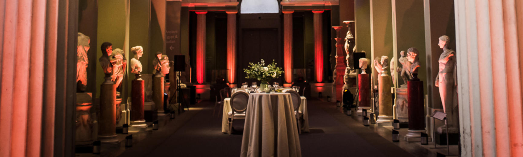 venue hire at the Ashmolean