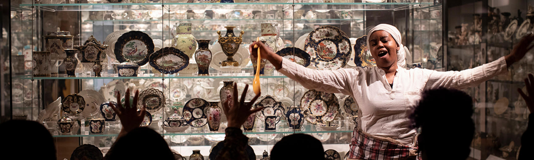 European Ceramics Gallery at the Ashmolean