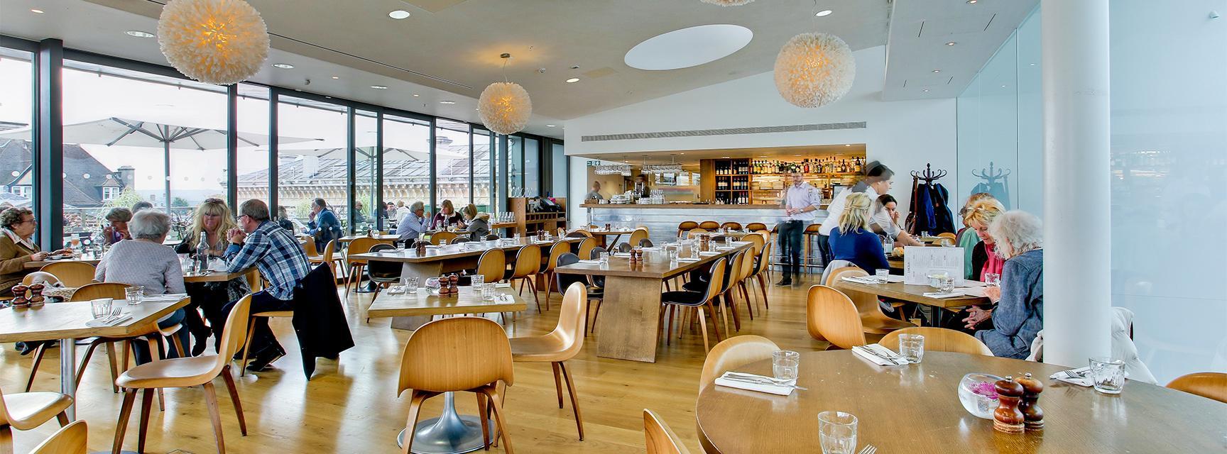 The Ashmolean Rooftop Restaurant