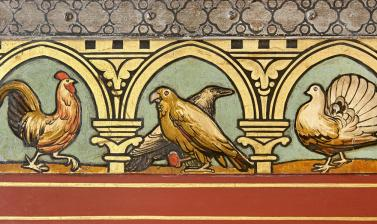The Great Bookcase by William Burges (detail)
