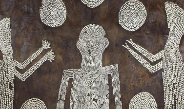 POWHATAN'S MANTLE (detail) from the Ashmolean collections