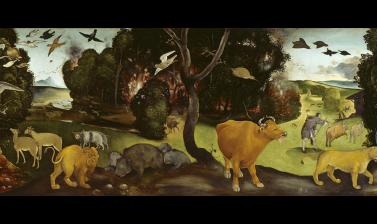The Forest Fire by Piero di Cosimo