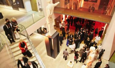 Ashmolean Venue Hire – Wedding in the Ashmolean Atrium