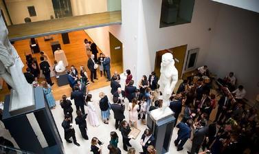 Entertainment in the Ashmolean Atrium